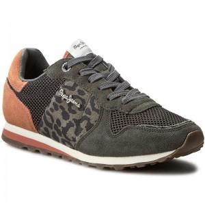 Sportcipő PEPE JEANS - Verona W Print PLS30371 Middle Grey 925 - Sneakers -  Félcipő - Női - www.ecipo.hu 014533eb73