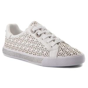 Sportcipő GUESS - Derrik FMDER1 LEA12 NAVY - Sneakers - Félcipő ... b4a3f1af04