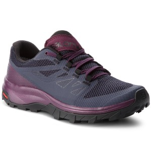 Bakancs SALOMON - Outline Gtx W GORE-TEX 406196 22 V0 Graphite Potent Purple 8f29649a9a