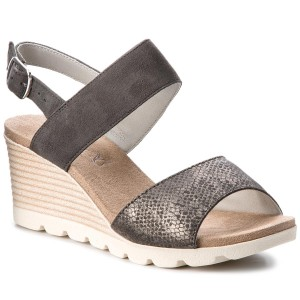 Magasított cipő CAPRICE - 9-25203-29 Black Comb 019 - Magasított ... a38125674c