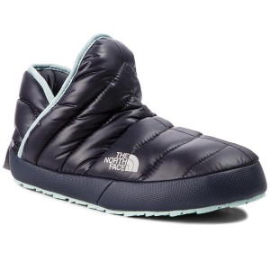 Zártpapucs THE NORTH FACE Thermoball Traction Bootie T9331H5QC Shiny  Blackened Pearl Blue Haze 05ec20de12