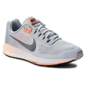 bcf68dfe24 Cipő NIKE - Air Zoom Structure 21 904701 008 Wolf Grey/Dark Grey