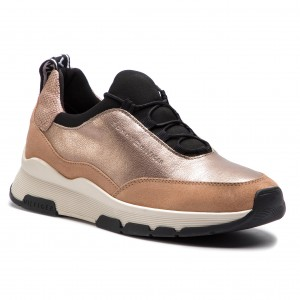 4a4ee8f0ae Sportcipő TOMMY HILFIGER - Cool Leather Debossed Sneaker FW0FW04028  Maquillaje 718