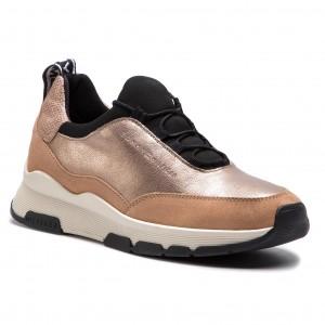 12a397f1f3 Sportcipő TOMMY HILFIGER - Cool Leather Debossed Sneaker FW0FW04028  Maquillaje 718