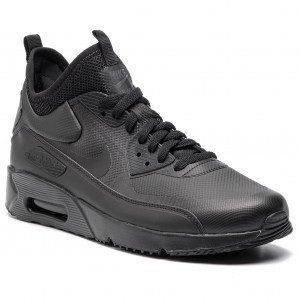Cipő NIKE - Air Max 90 Ultra Mid Winter 924458 004 Black Black Anthracite 866a724326