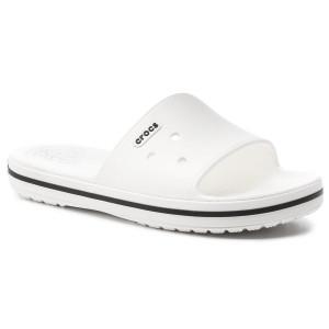 Papucs CROCS - Crocband III Slide 205733 White Black - Hétköznapi papucsok  - Papucsok - Papucsok és szandálok - Női - www.ecipo.hu cb13f7db14