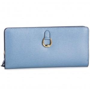 Nagy női pénztárca LAUREN RALPH LAUREN - Bennington 432688520014 Blue 369dc76c1c