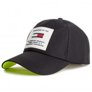 Sapka TOMMY HILFIGER - Logo Patch Beanie AW0AW05942 050 - Női ... b4a1e409e1