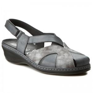 Szandál LASOCKI - F931 Barna - Magasított sarkú cipők - Papucsok és szandálok - Női
