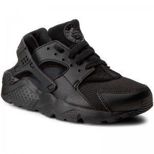 Cipő NIKE Huarache Run (GS) 654275 016 Black Black Black 2540ff0ba0