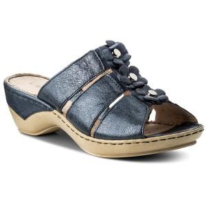 Papucs CAPRICE - 9-27103-20 Lt Grey Suede 201 - Hétköznapi papucsok ... 52f239c2ea