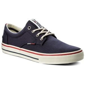 Teniszcipő TOMMY JEANS - Textile Sneaker EM0EM00001 Ink 006 e9a71d5f51
