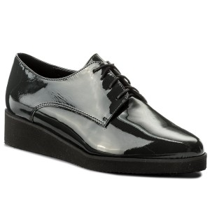 167adffa11 Oxford cipők EKSBUT - 28-5206-121-1G Fekete - Oxford - Félcipő - Női ...