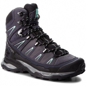 Bakancs SALOMON X Ultra Trek Gtx W GORE-TEX 404631 21 V0  Graphite Black Beach Glass 76dc242804