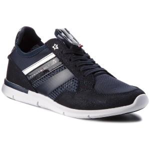 Sportcipő TOMMY HILFIGER - Metallic Light Weight Sneaker FW0FW02996  Midnight 403 ae9655e943