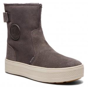 Magasított cipő PALLADIUM - S U B Explorer Boot W 95993-077-M  Goudron Moonbeam 63a1bab266