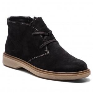Magasított cipő CAPRICE - 9-25110-31 Black Suede 004 332cf55075