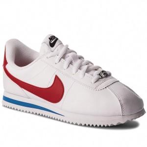 534f5a291e Cipők NIKE - Classic Cortez Leather 807471 102 White/White ...