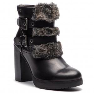 Magasított cipő BUGATTI 411-55931-1069-1011 Black Dark Grey 4e277b1add