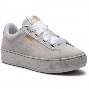 Sportcipő PUMA - Vikky Platform Ribbon 366815 02 Glacier Gray Gray Gold dea25e18e4