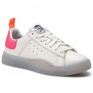 ec12380ef4 Sportcipő DIESEL S-Clever Low W Y01752 P2282 H7102 Star White/Pink Fluo
