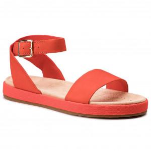 Szandál CLARKS Willow Gild 261407764 Orange Leather