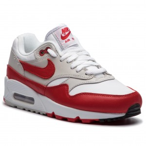 Cipő NIKE - Air Max 90 1 AQ1273 100 White University Red 35111bf30