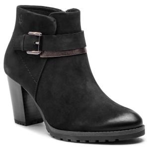 Magasított cipő CAPRICE - 9-25304-21 Black Nubuc 008 - Magasított ... 93b127b740