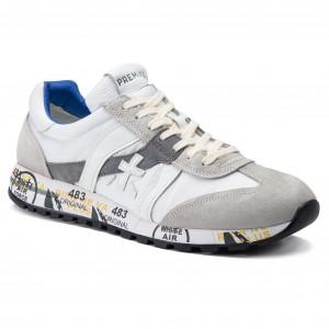 Sportcipő PREMIATA - Lucy 3837 Fehér Szürke 25cbdbef53