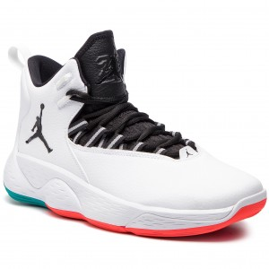 fd020441a4 Cipő NIKE - Jordan Super.Fly Mvp AR0037 103 White/Black Turbo Green