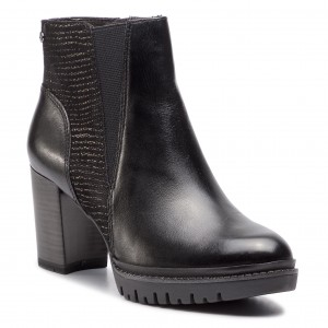 Magasított cipő TAMARIS 1-25220-31 Black 001 e4c590be1f