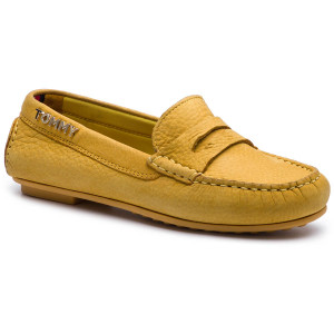 3dc5f58526 Mokaszin TOMMY HILFIGER - Colorful Tommy Moccasin FW0FW04398 Spectra Yellow  730