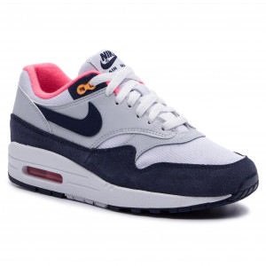 039058e8d3 Cipő NIKE - Air Max 1 319986 116 White/Midnight Navy