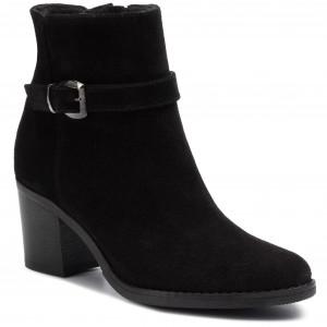 Magasított cipő SOLO FEMME 25401 12 G70000 13 00 Fekete