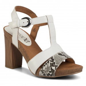 Kiárusítás Fehér balerina cipő Modell 1 22109 20 197 WHITE