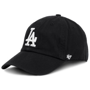 Baseball sapka 47 BRAND Los Angeles Dodgers B-RGW12GWS-BKD Fekete 0d5712785d