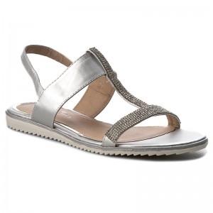 Szandál TWINSET - Sandalo 201TCT01A  Nero 00006  - Hétköznapi szandálok - Szandálok - Papucsok és szandálok - Női