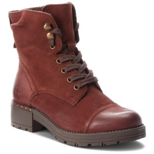 Magasított cipő LASOCKI WI16-DANA-06 Bordó 2fa786a3c9