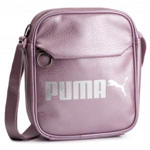 4fe7c5e8aeda Válltáska PUMA - Campus Portable 075004 07 Elderberry/Puma Silver/Met