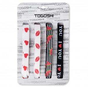 cipőfűző szett TOGOSHI TG LACES 120 4 WOMEN 004 Rózsaszín Sárga Színes