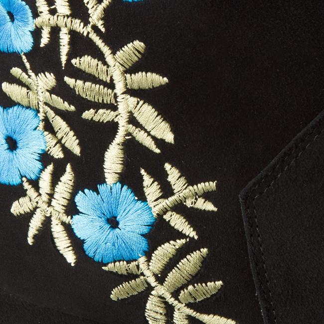 Magasított cipő OLEKSY - 2511/147/000/000/000 Fekete - Bokacsizmák - Csizmák és egyebek
