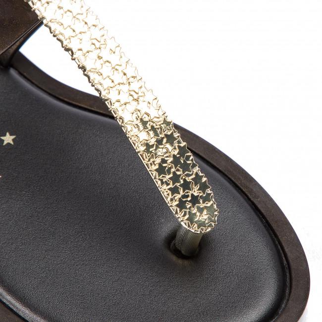 Szandál MELISSA - Slim Sandal II Ad 32601 Black/Gold 50816 - Hétköznapi szandálok - Szandálok - Papucsok és szandálok