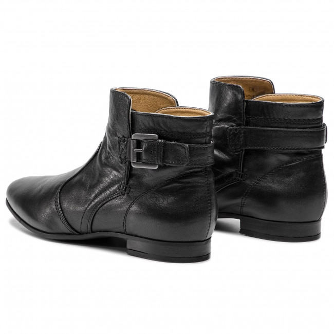 Magasított cipő GEOX - D Marlyna G D828PG 00044 C9999 Black - Bokacsizmák - Csizmák és egyebek