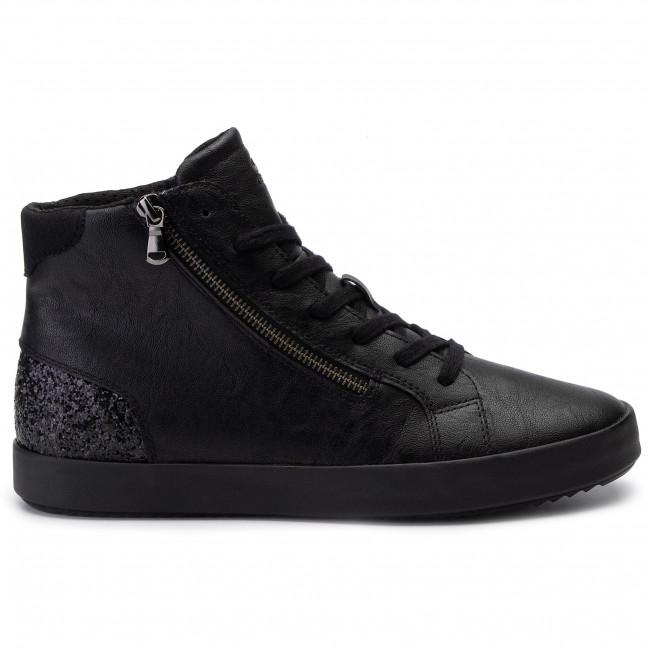 Sportcipő GEOX - D Blomiee B D946HB 0PVEW C9999 Black - Sneakers