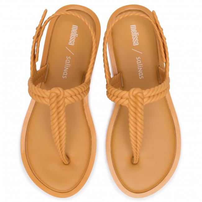 Szandál MELISSA - Flash Sandal + Salinas 32630  Yellow 50606 - Hétköznapi szandálok - Szandálok - Papucsok és szandálok