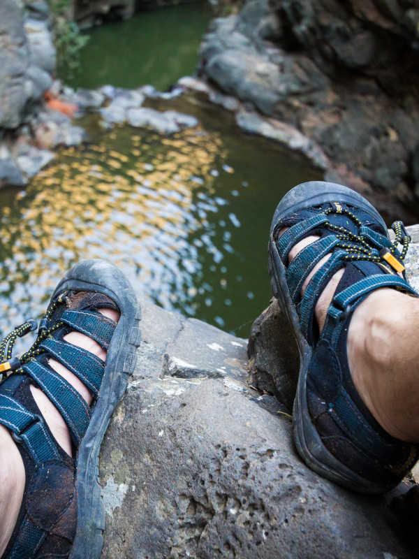 férfi vízi cipők