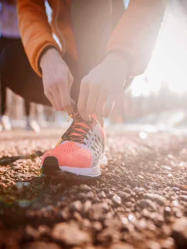 cipők edzőterembe